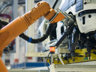 Robot in an Automobile Industry
