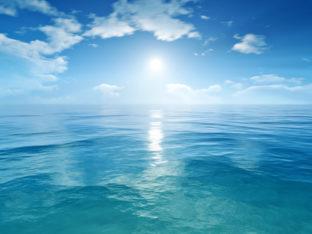 błękitny ocean