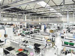 nowoczesna fabryka