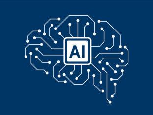 symboliczne przedstawienie sztucznej inteligencji