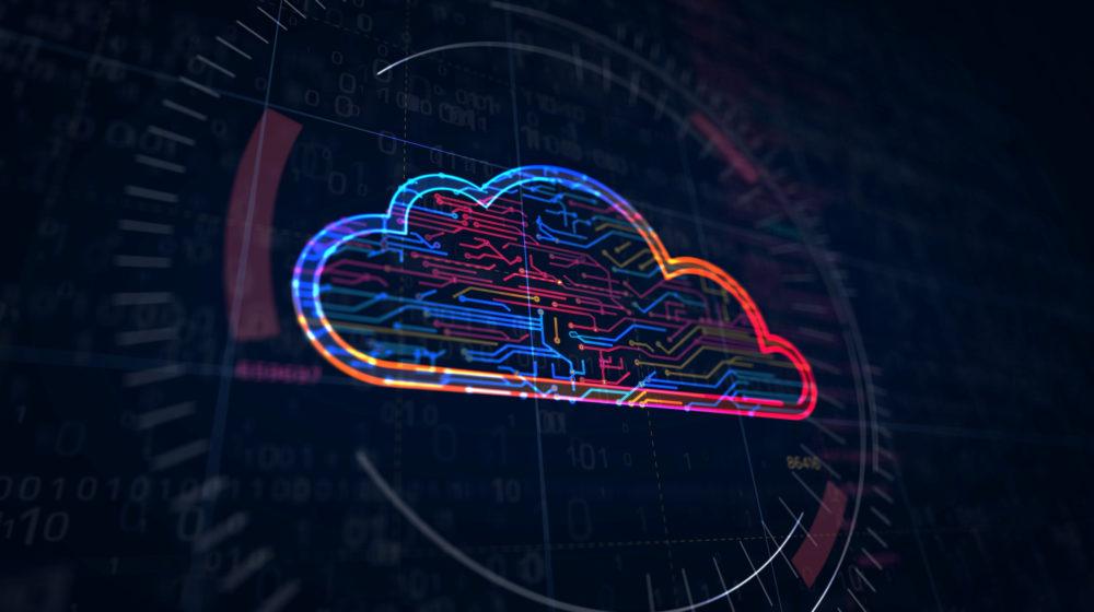 koncept chmury obliczeniowej