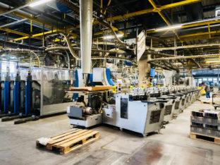 linia w fabryce