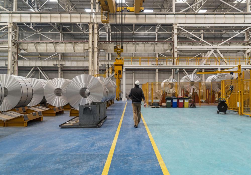 fabryka aluminium