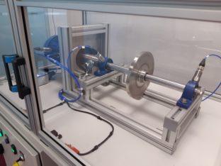 model maszyny wirnikowej