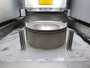 Komponent wydrukowany metodą LPBF