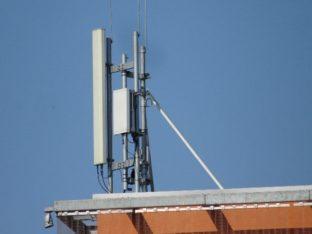 5G – Stacja bazowa – Ericsson / Kampus Politechniki Łódzkiej